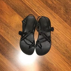 All Black Chaco's